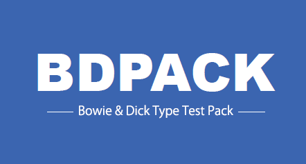 Bowie &Dick test fully complying with ISO11140 standard